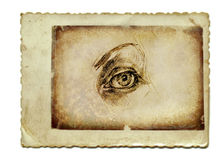 The eye 1 Stock Photography