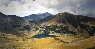 The eye. Lake The eye in the Pirin mountain Stock Photo