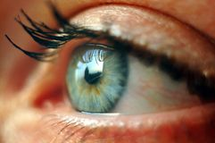 The Eye Royalty Free Stock Photography