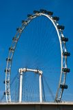 The Eye. Take a birds eye view of the city one one of the biggest ferris wheel's in the world stock images
