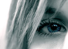 Eye. Woman beauty Royalty Free Stock Image