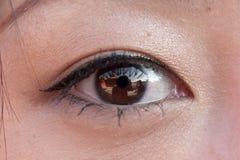 Eye. Close up of a eye Stock Image