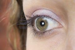 The Eye 2. A close-up shot of an eye Royalty Free Stock Photos