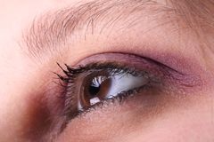 Eye royalty free stock photo