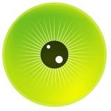 Eye. Illustration for the eye Stock Photo