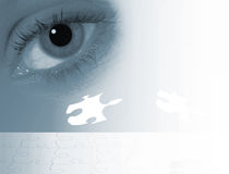 Eye abstract Stock Photos