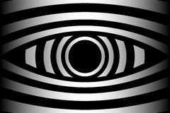 Eye - abstract  background. Eye - abstract black and white background Stock Image