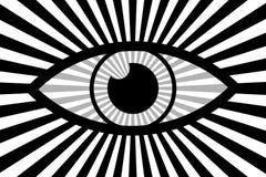 Eye abstract background stock illustration