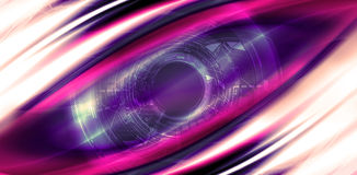 Eye abstract future Royalty Free Stock Photography