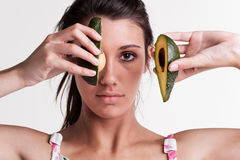 Eye avocado Stock Photos