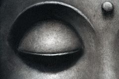 Eye background. Zen eye  background Stock Photography