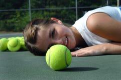 Eye on the ball stock photo