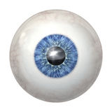 Eye ball blue royalty free illustration