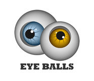 Eye balls Royalty Free Stock Images