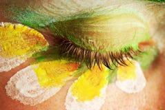 An eye of beautiful woman Royalty Free Stock Photos