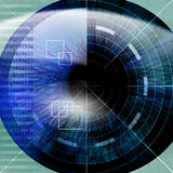 Eye being scanned Royalty Free Stock Photography