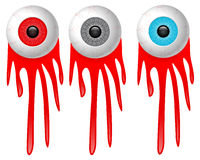Eye and blood Stock Photography