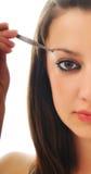 Eye brow beauty treatment Stock Image