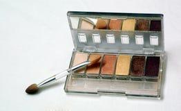 Eye brow blush. A range of brown color eye brow blush Stock Photo