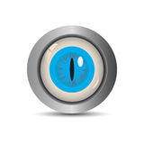 Eye Button -EPS Vector- Royalty Free Stock Images