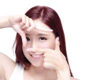 Eye care concept Stock Photo
