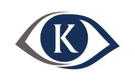 Eye Care Solutions Letter K Stock Photo