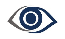 Eye Care Solutions Letter O Stock Images