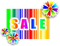 Eye-catching sale sign Stock Images