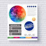 Eye-catching vector design for a Business Project Stock Image