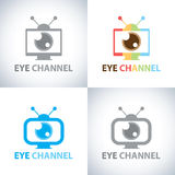 Eye channel Royalty Free Stock Images