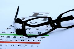 Eye Chart Stock Photos