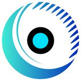 Eye clip art Royalty Free Stock Images