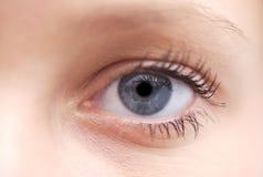 Eye close-up stock image