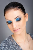 Eye close up makeup Royalty Free Stock Photography