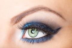 Eye close up makeup Stock Photography