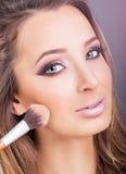 Eye close up makeup Royalty Free Stock Images
