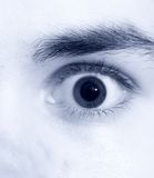 Eye close view Royalty Free Stock Images
