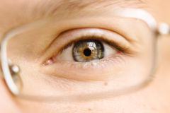 Eye closeup Royalty Free Stock Photo