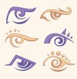 Eye collection Stock Photos