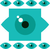 Eye concept Royalty Free Stock Photography