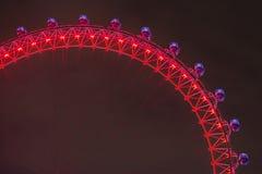 eye den london natten Arkivfoto