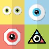 Eye design Stock Photography