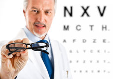 Eye doctor Royalty Free Stock Images