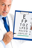 Eye doctor Royalty Free Stock Photos