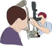 Eye doctor, ophthalmologist, Royalty Free Stock Photo