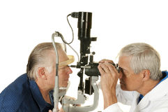 Eye doctor Stock Photography