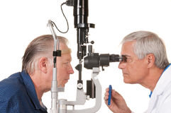 Eye doctor Royalty Free Stock Photography