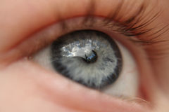 The eye of a dreamer Royalty Free Stock Photo