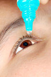 Eye drop Stock Images
