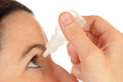 Eye drops Stock Images